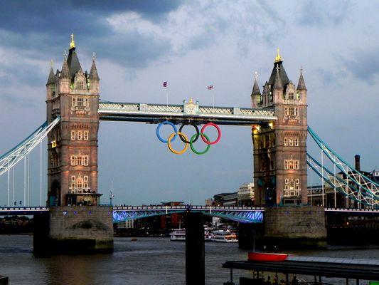 Olympic London 2012 -Tower Bridge