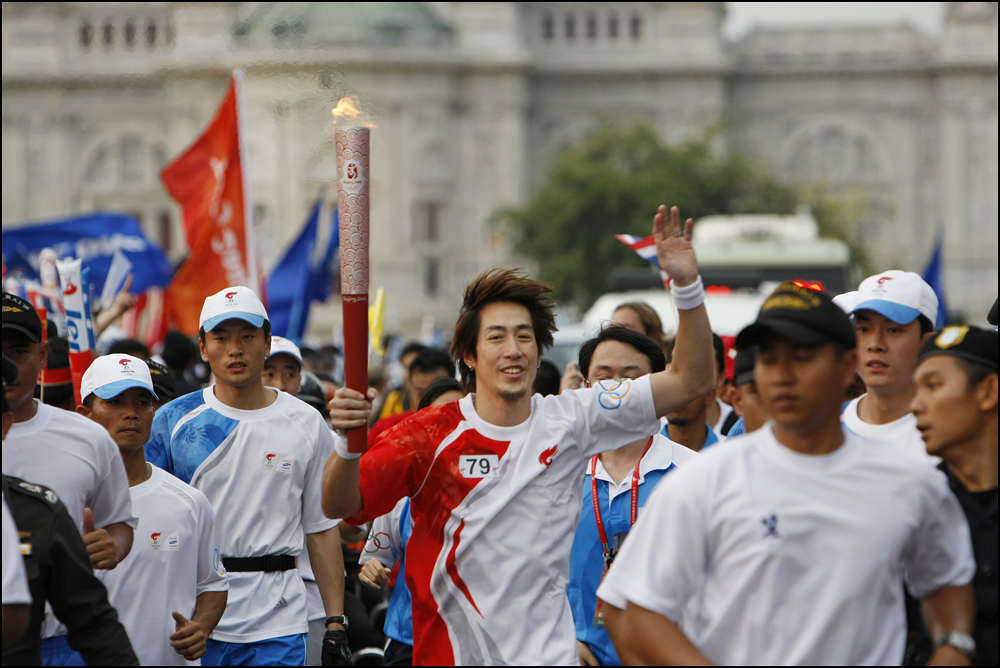 Olympic Torch Relay Thailand 7