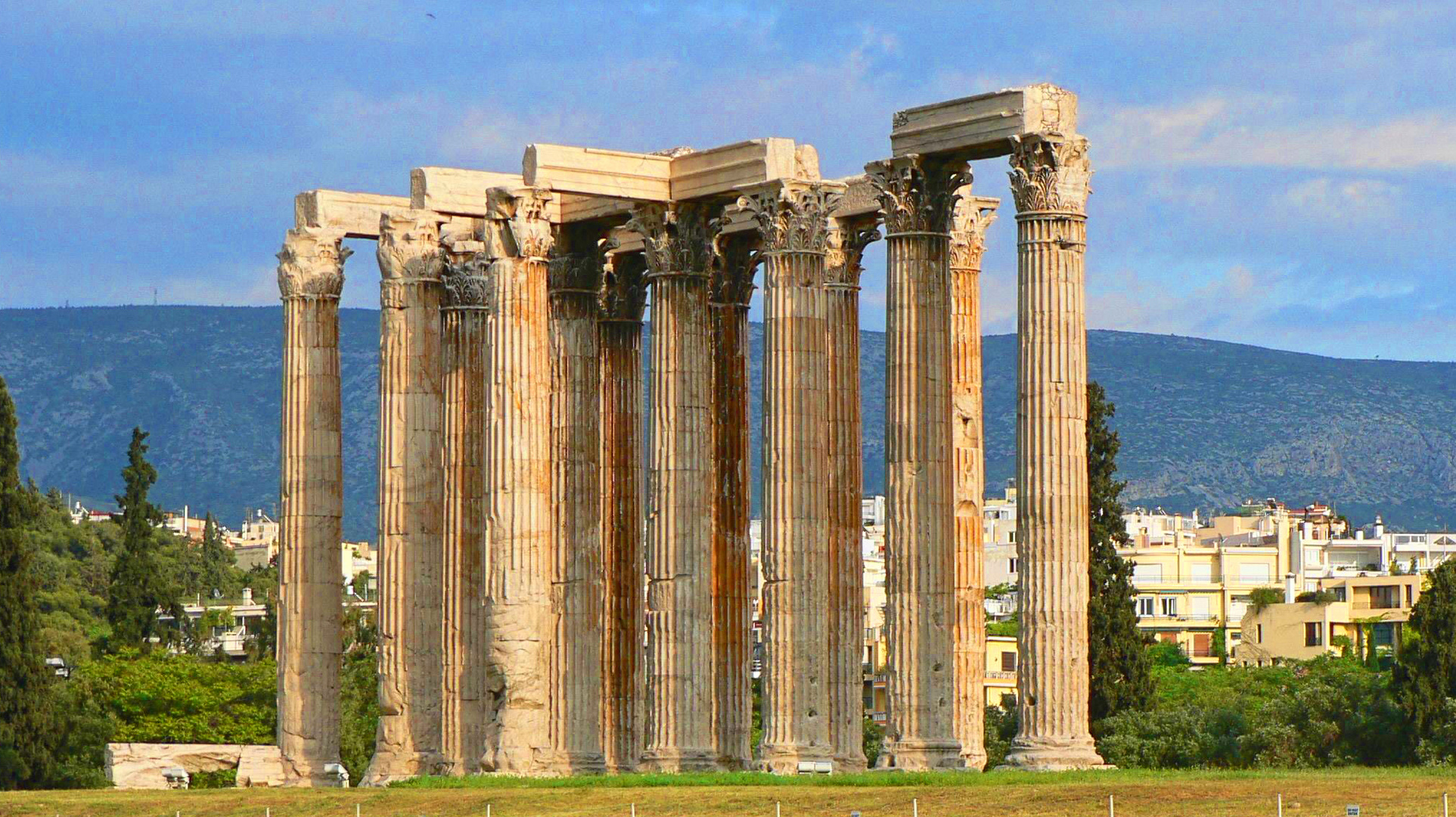 Olympieion, The Temple of the Olympian Zeus