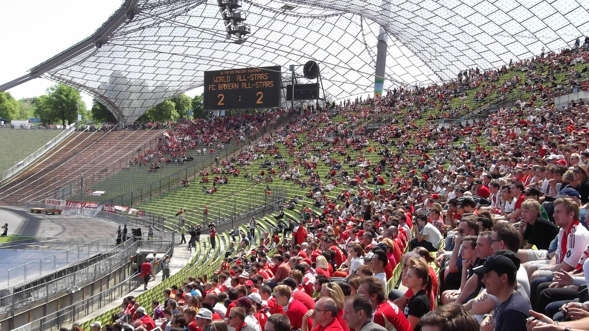 Olympistadion München Südkurve
