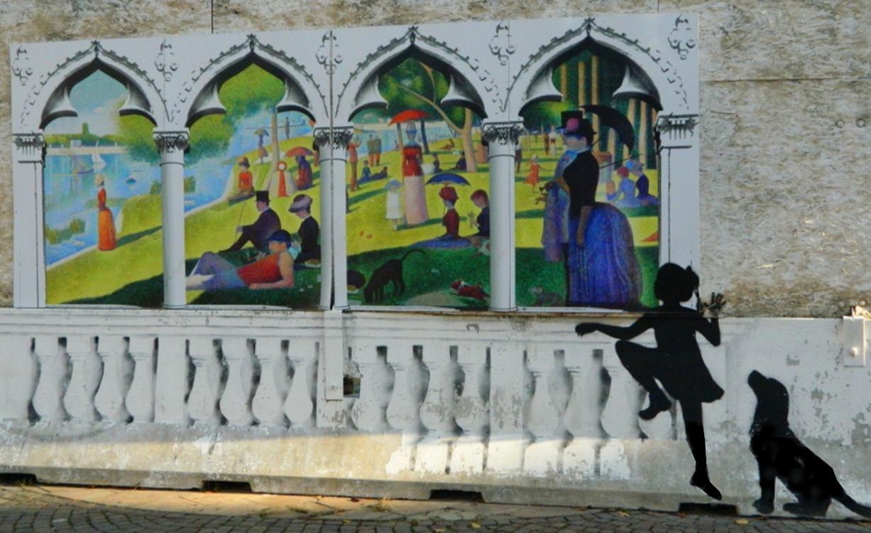 Omaggio a Georges Seurat  (la Grande Jatte)