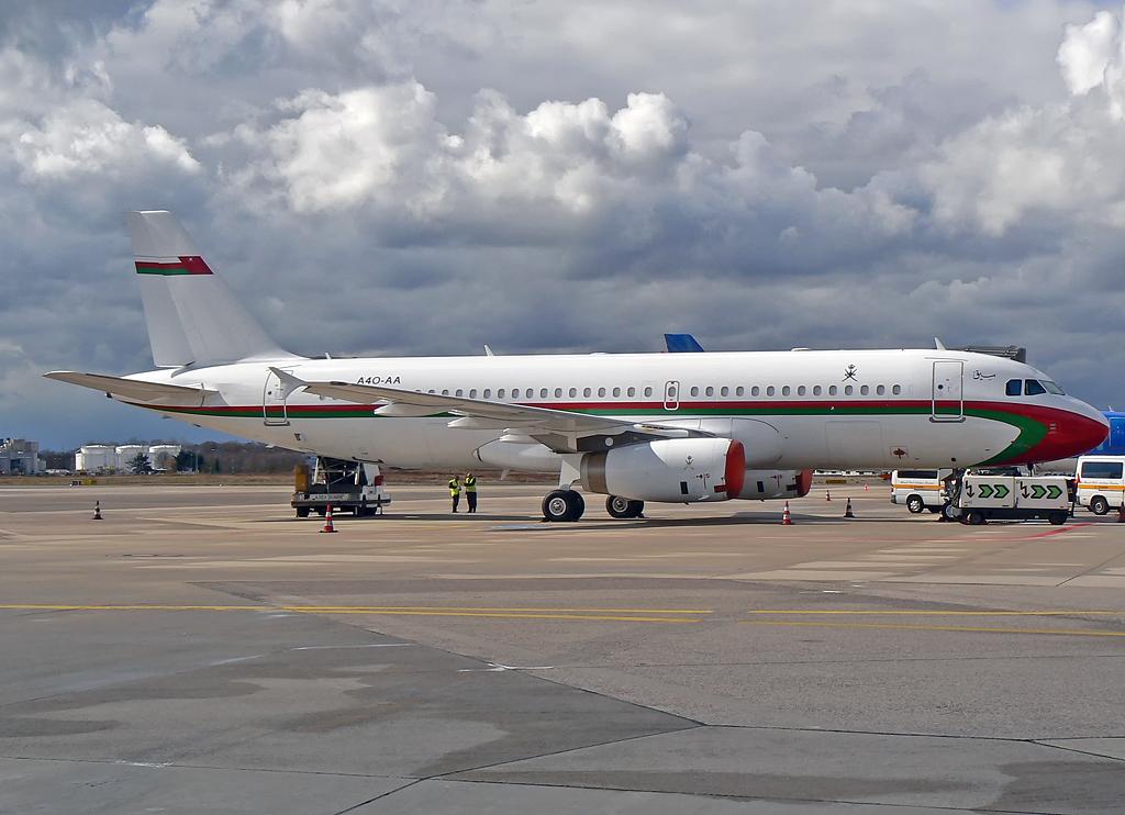 Oman Royal Flight A4O-AA Airbus A320-232