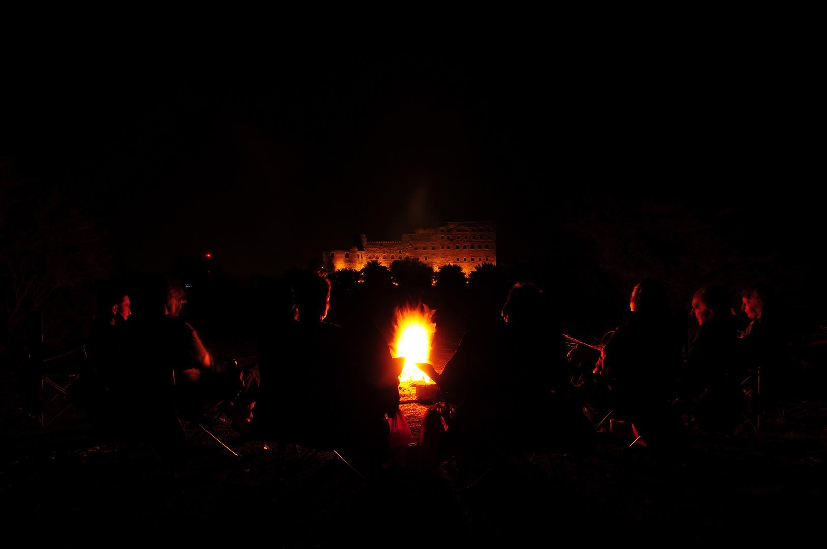 Oman zu Fuß - Camping bei Al Jabreen