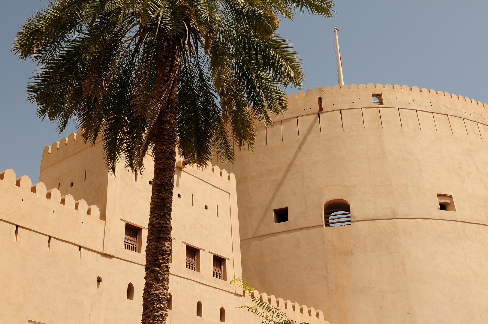 Oman zu Fuß - Festung Nizwa