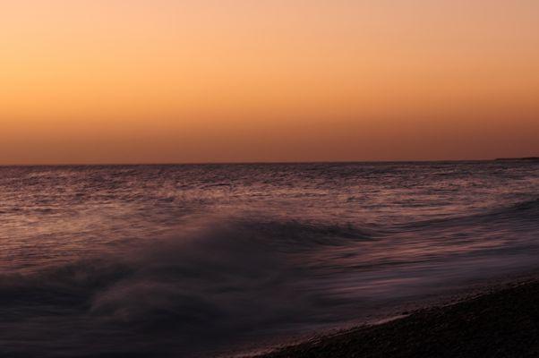 Oman zu Fuß - Sonnenaufgang am Meer (2)