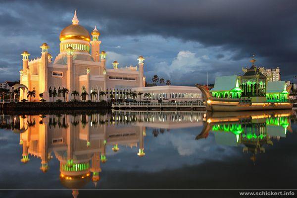 Omar Ali Saifuddien Moschee