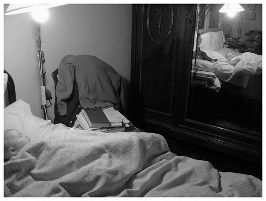 Oma's Bett