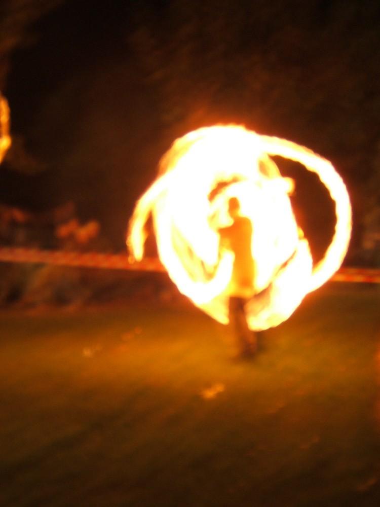 Ombre en flammes