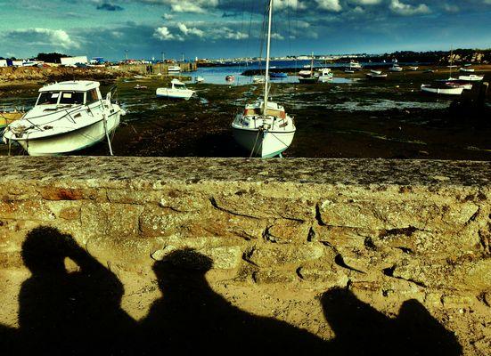 Ombre et lumière à l'Ile de Batz