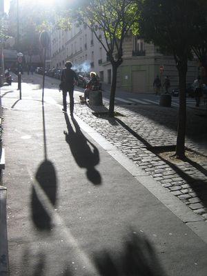 Ombres et Lumières ......... rue du Mont Cenis