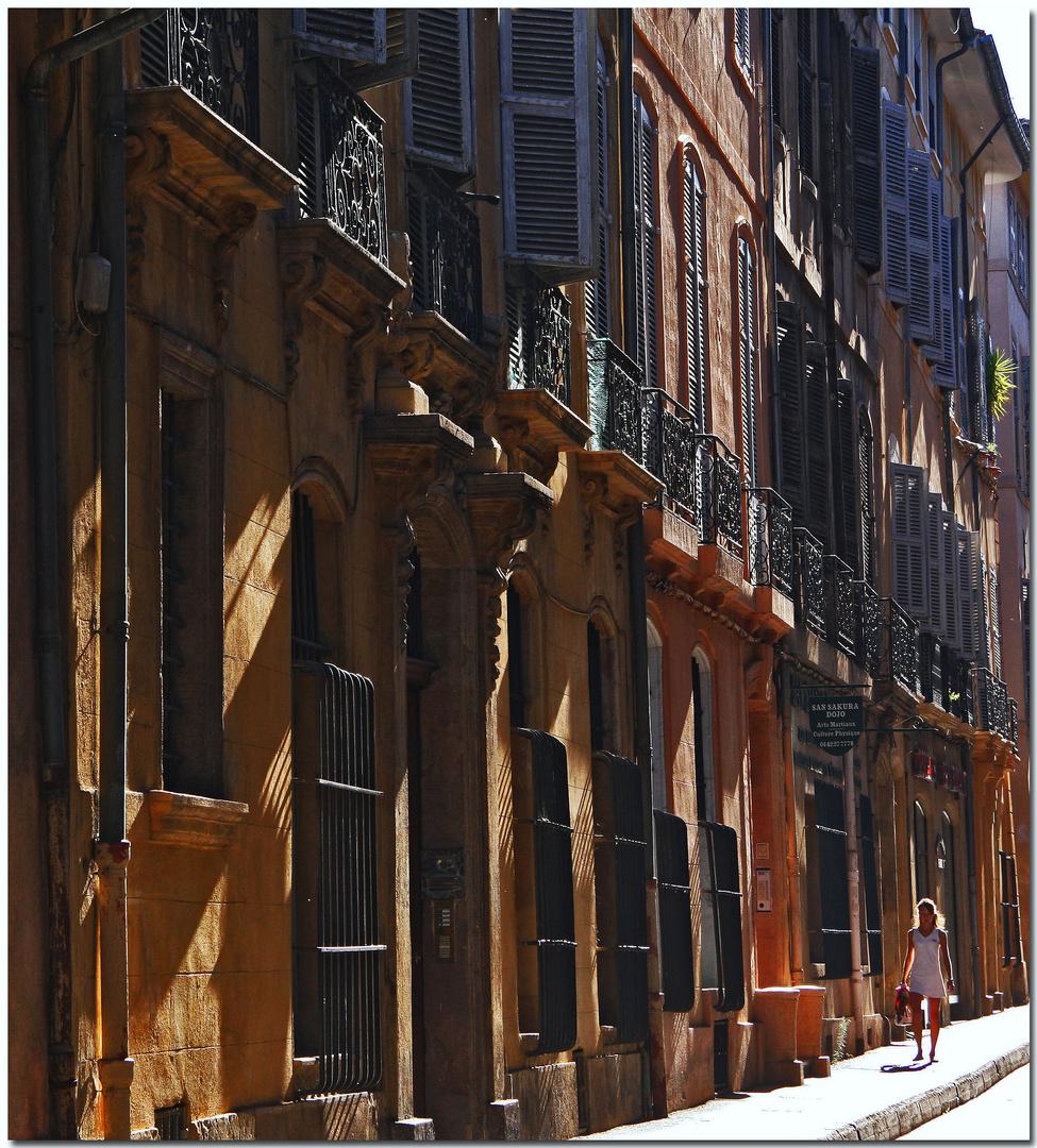 Ombres matinales à Aix I