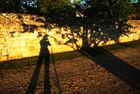Ombres soleil couchant