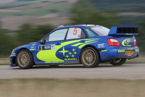 OMV ADAC Deutschland Rallye - Erzweiler 2 - Peter Solberg