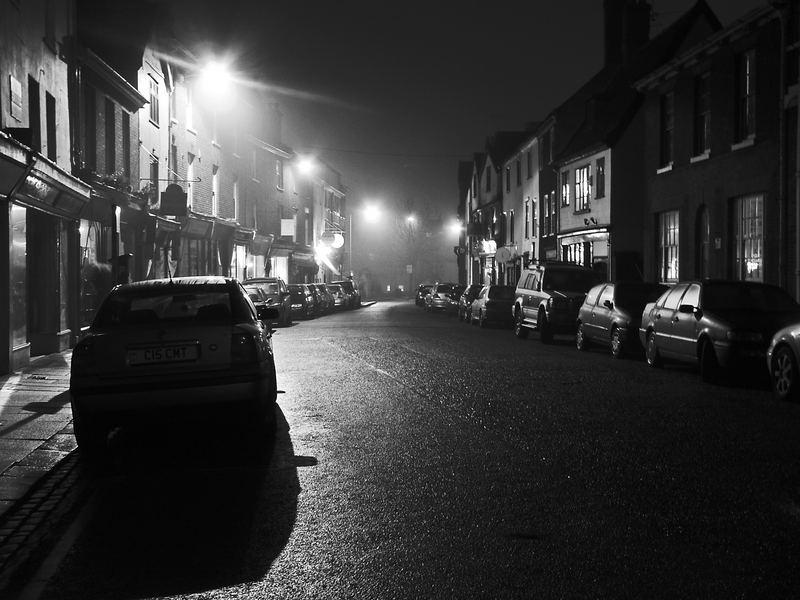 On a cold, dark night