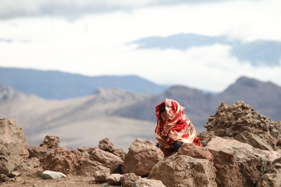 On a excursion - Chimborazo