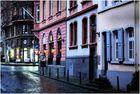 On a rainy winter evening in Mainz...