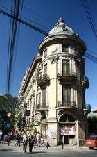 ...on Bd. Elisabeta in Bucharest...