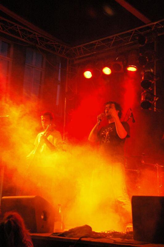 on met le feu à la fête de la musique