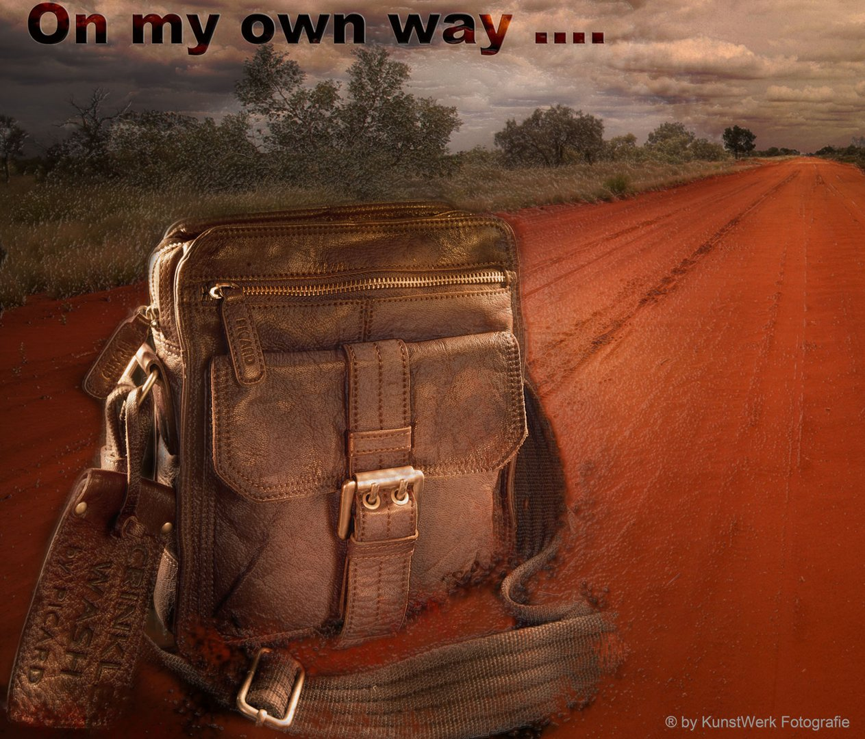 On my own way
