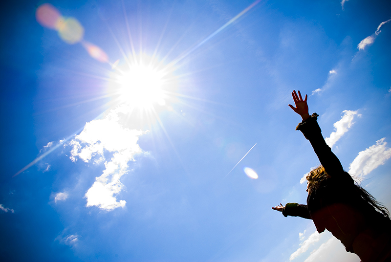 ...on sunshine