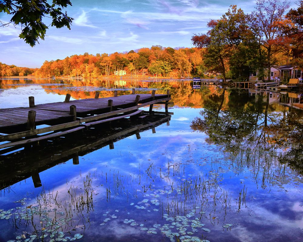 On Swartswood Lake
