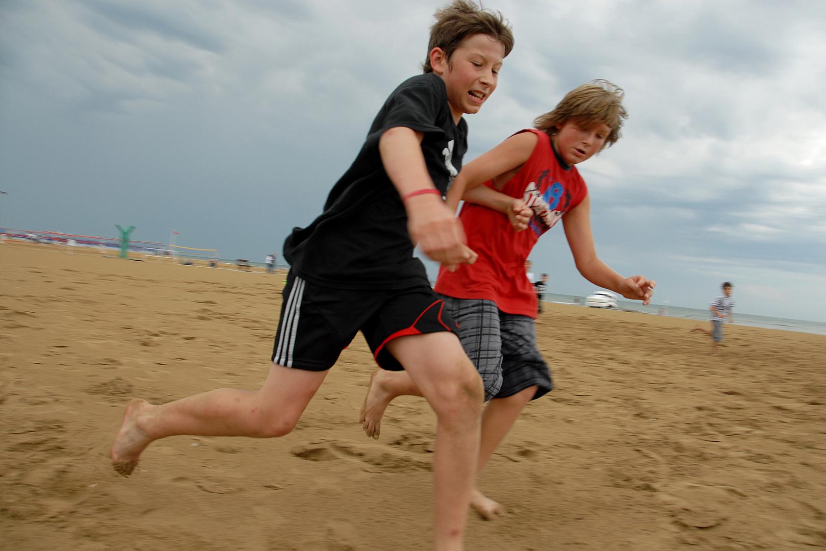 on the beach 4, voller Einsatz