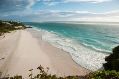 on the beach ..... Barbados
