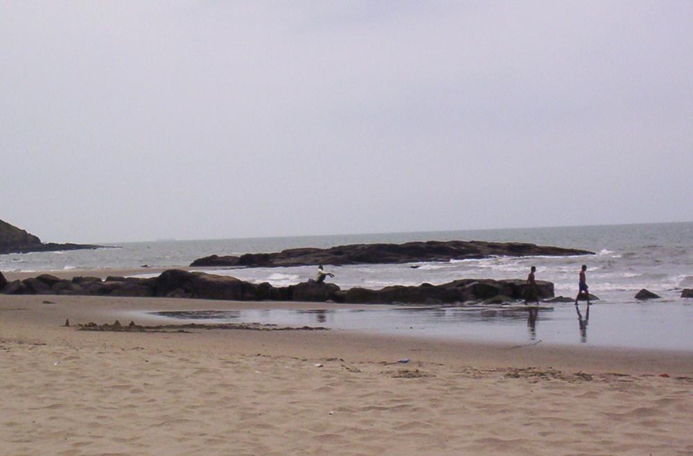 On the beach !!!