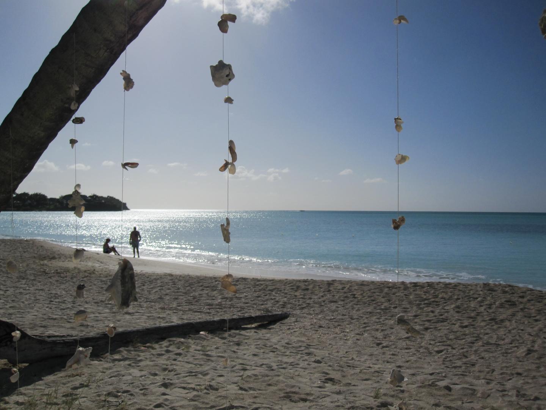 On the beach in St. John´s
