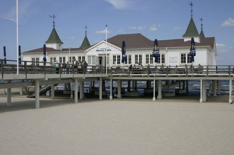 On the beach - Seebrücke Ahlbeck