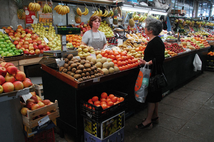 On the Bolhão Market