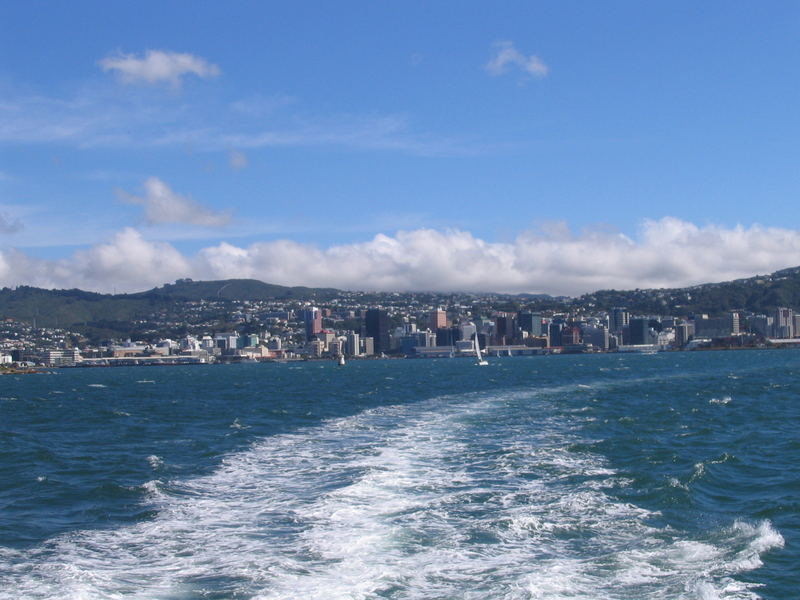 on the DomPost ferry