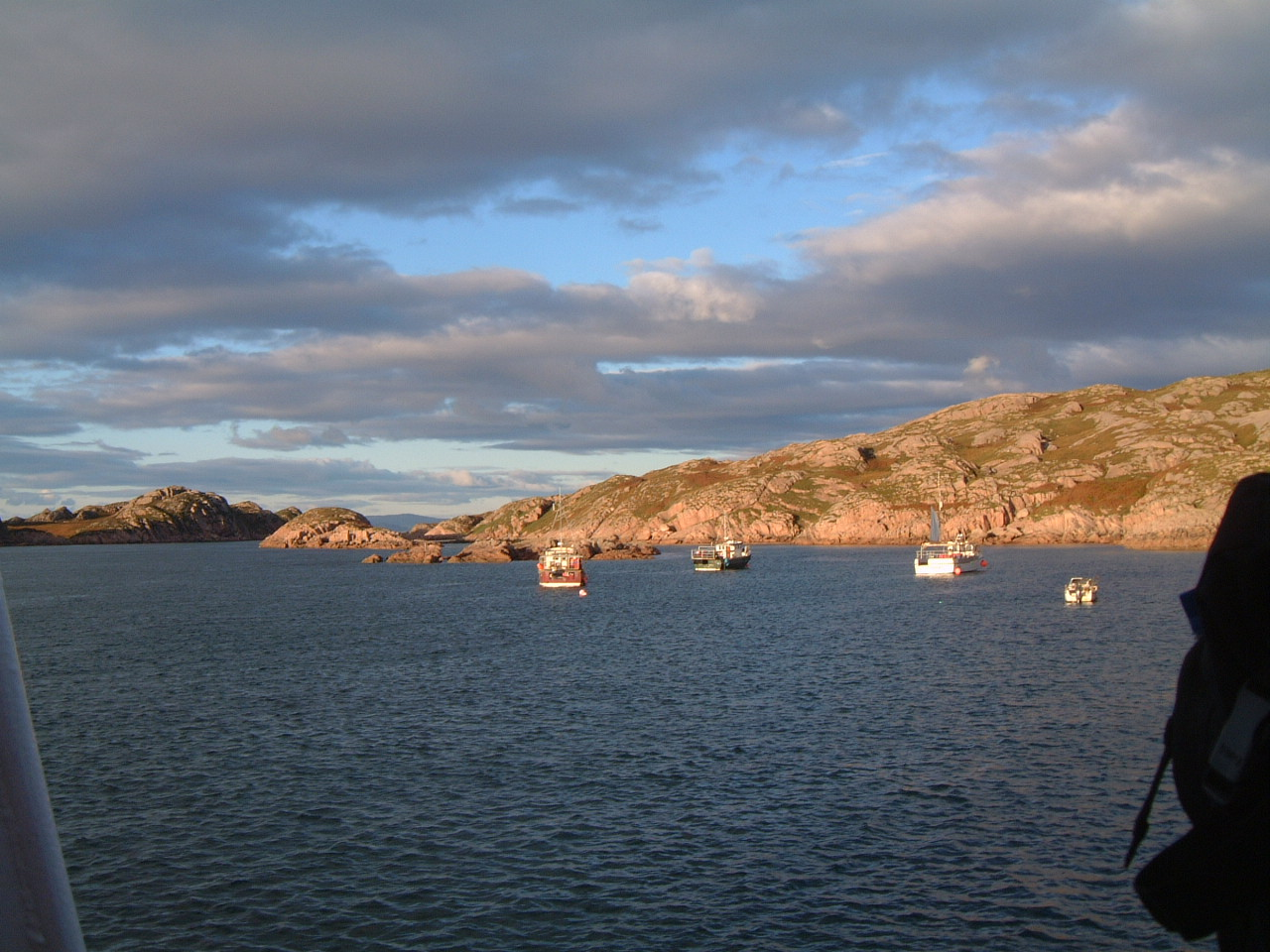 on the Ferry from Iona to Mull