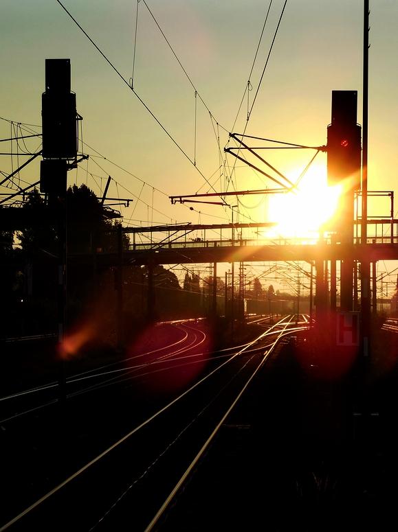 on the rail again