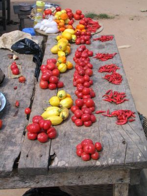 On the road, Ghana