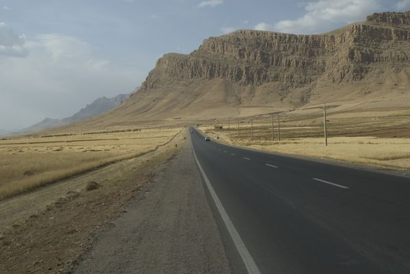 On the Road - Hitchhiking Iran