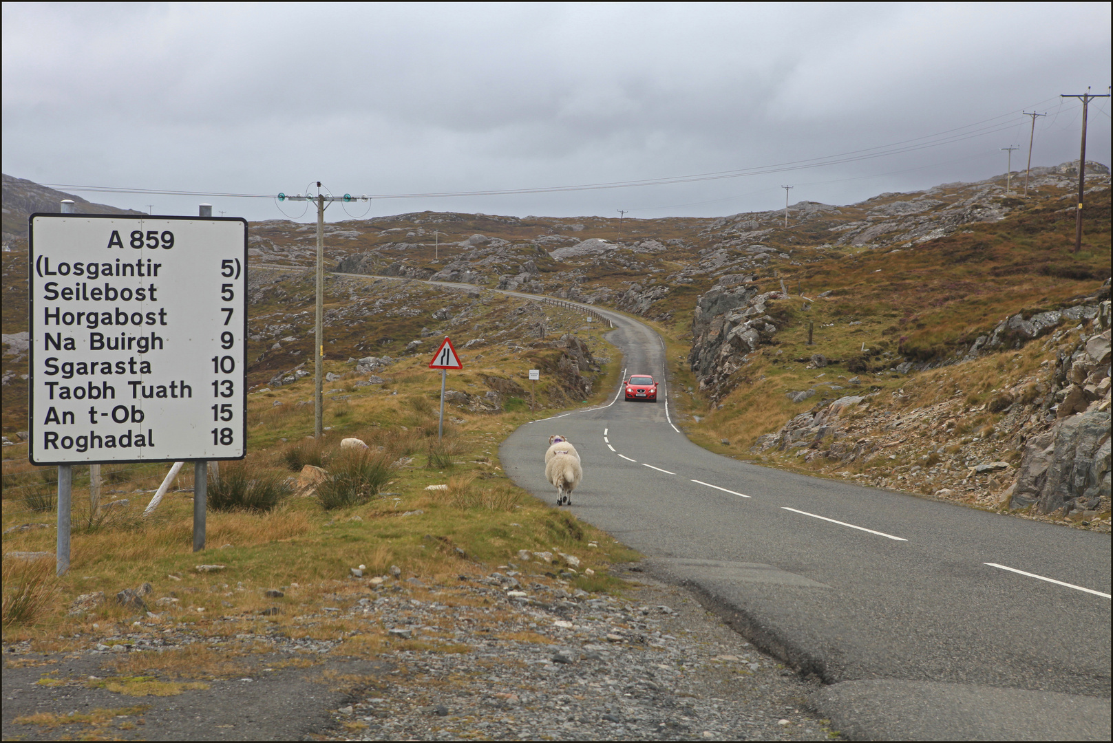 On the Road - Isle of Harris