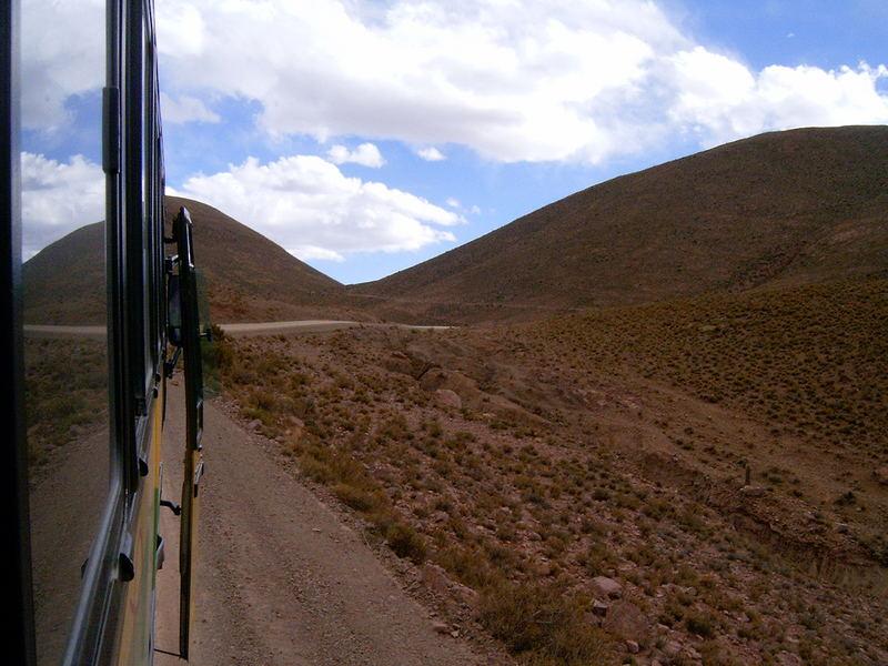 On the road to Uyuni