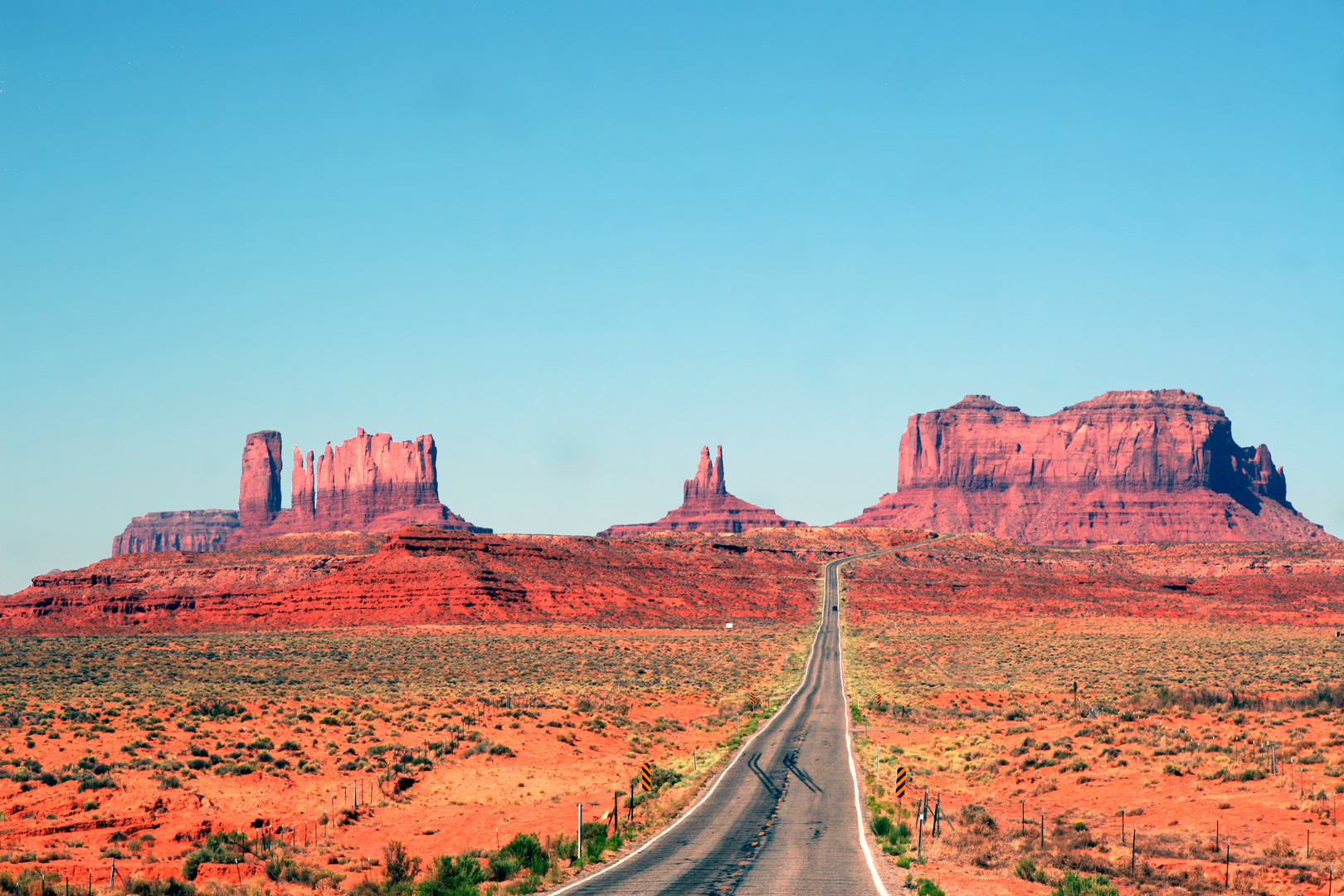 on the road.........monument valley