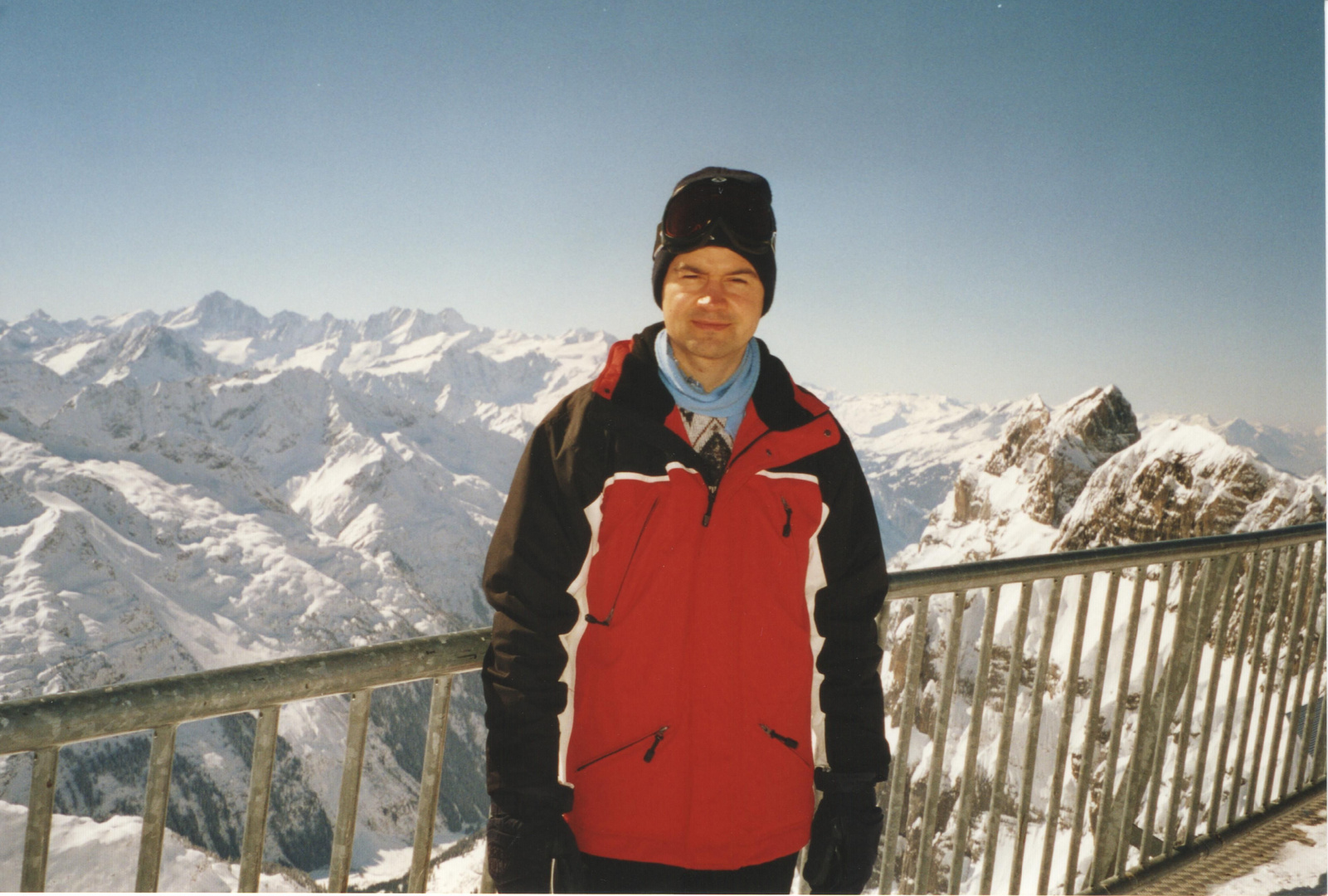 On the top of Titlis (3020 m/m)