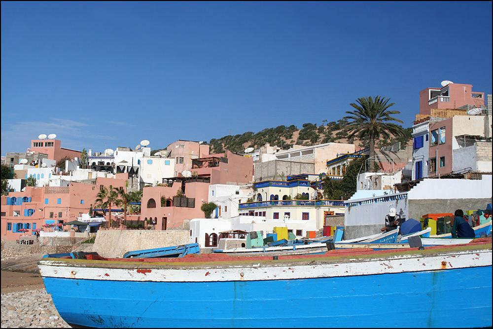 On the way to Essaouira ...
