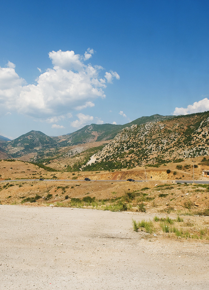 on the way to macedonia