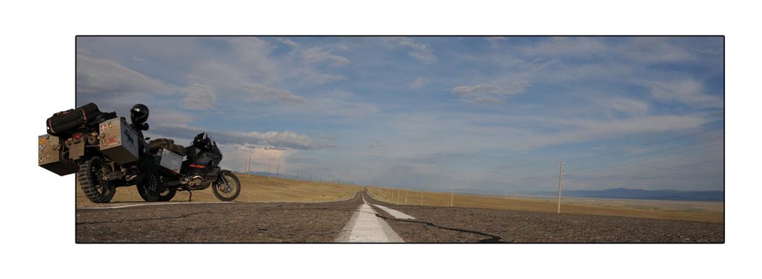 On the way to Mongolia I