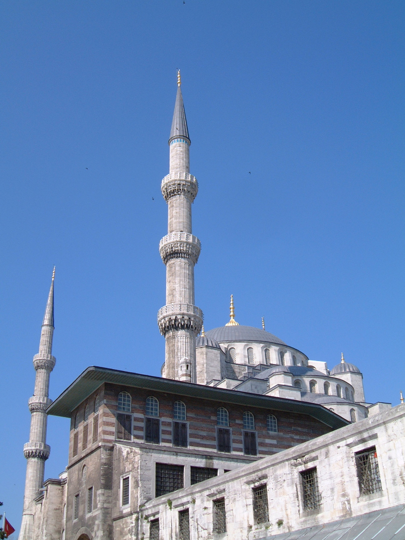 On the Way to the Blue Mosque