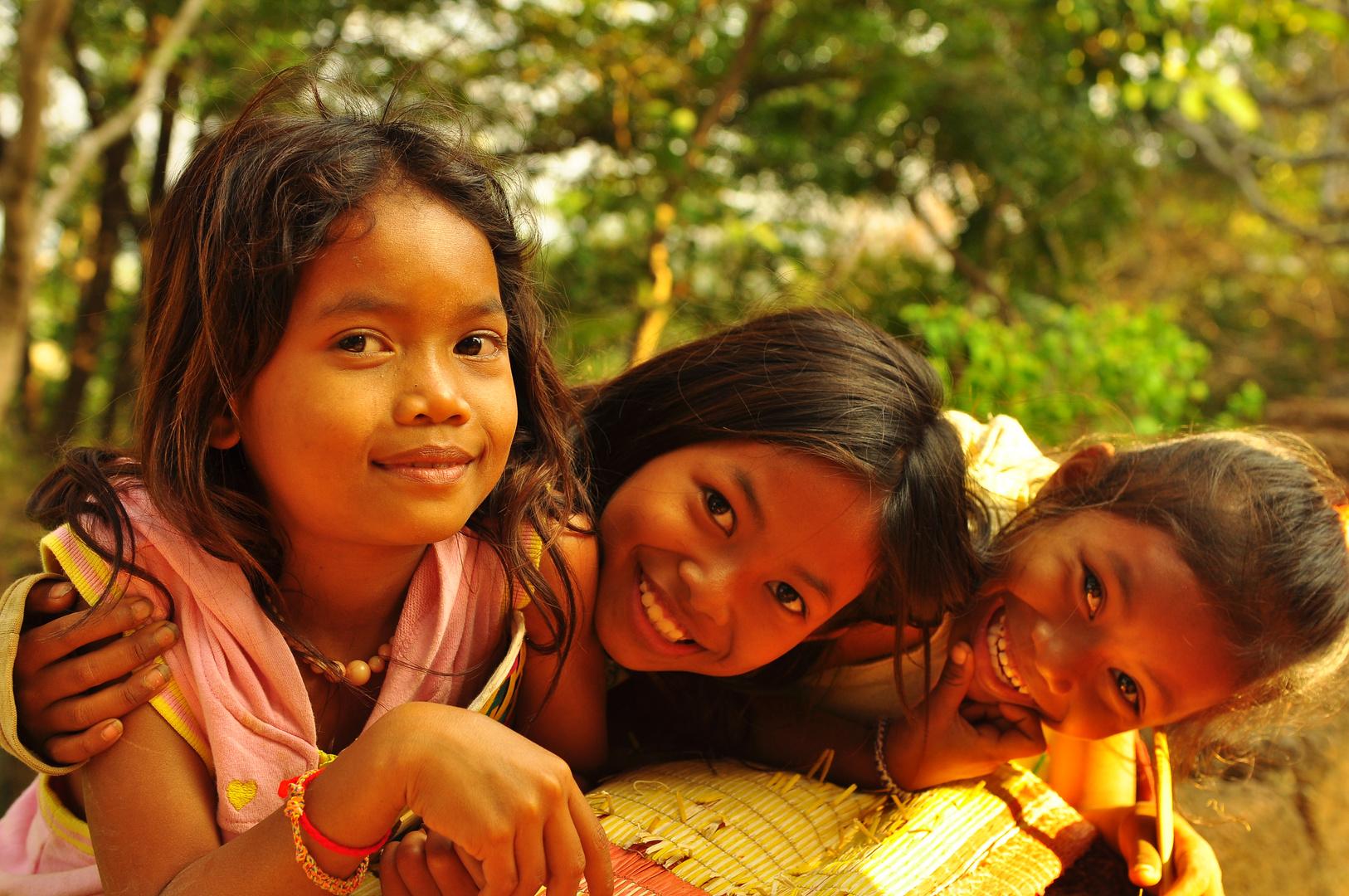 """"""" one dollar please """" - Banana Tempel - Cambodia"""
