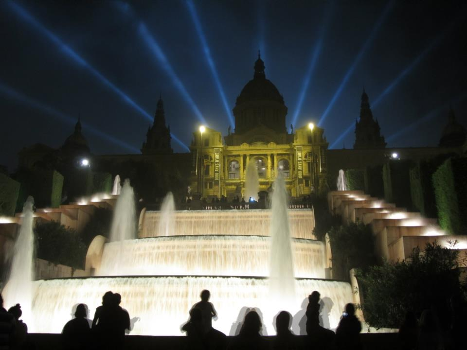 One night in Barcelona