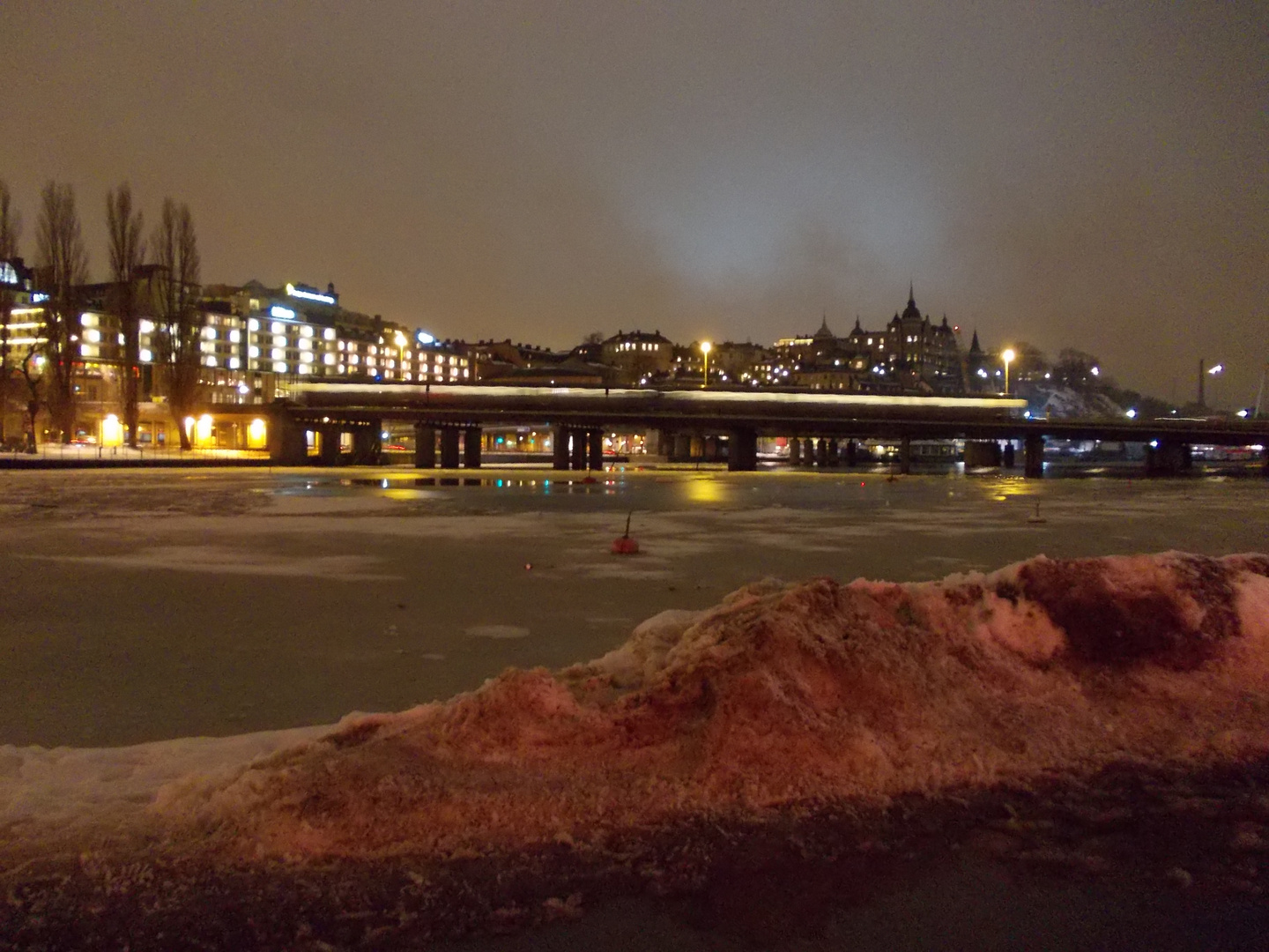 One night in Stockholm