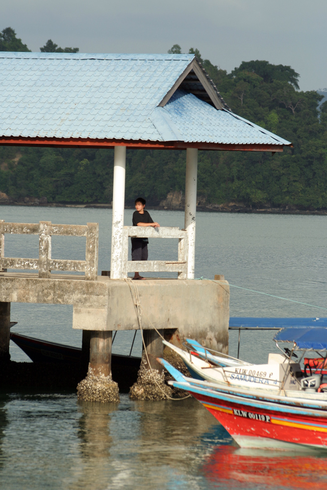 One of the small island near Langkawi