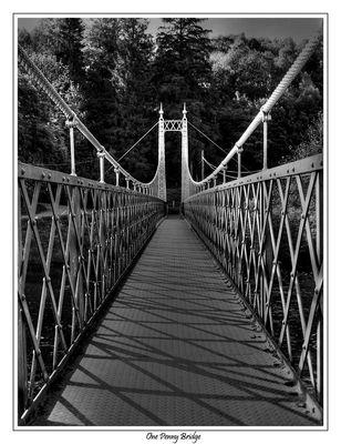 One Penny Bridge in Aberloure