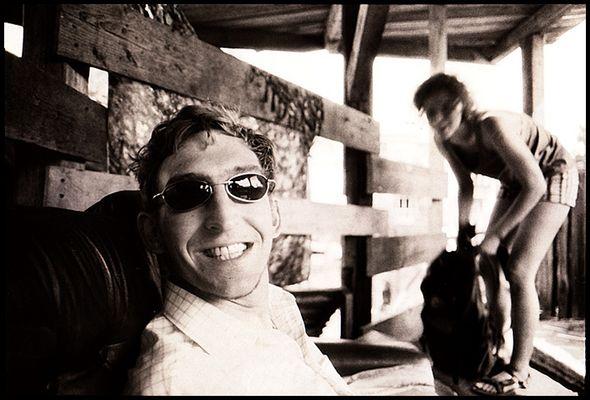 Onkel Rigga und sein bestes Pferd im Stall